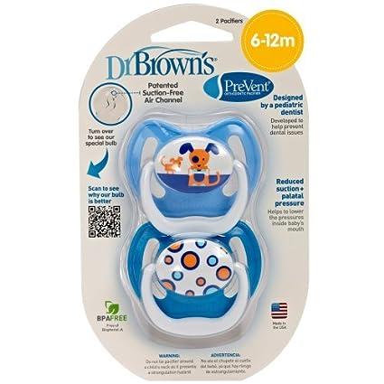 Dr. Brown PreVent Diseño Pacificador, Niños, Piso 2, 6-12 ...