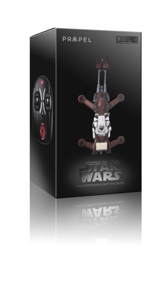 Propel Star Wars Quadcopter: Speeder Bike Collectors Edition Box by Propel (Image #9)