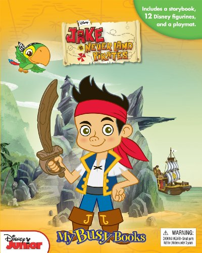Disney Jake and the Never Land Pirates My Busy Book