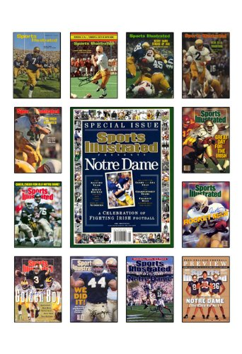 notre dame fighting irish poster