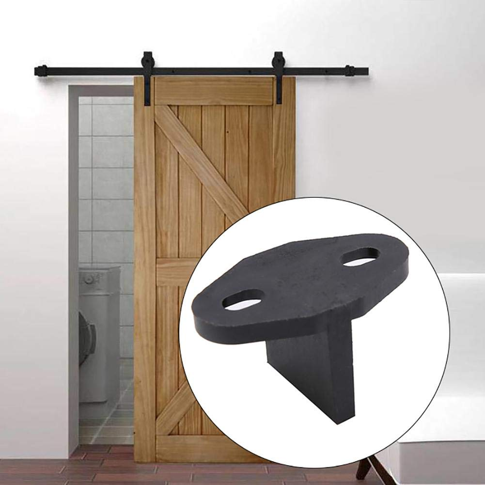 Bicaquu Sliding Barn Door Bottom T Shape Guide a Pavimento Porte Regolabili Accessori Hardware 01