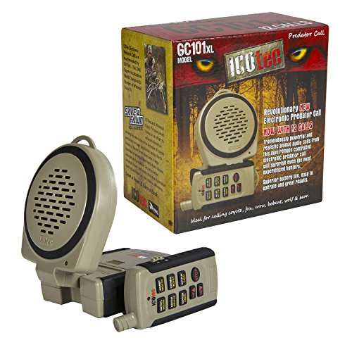 ICOtec GC101XL - Compact Electronic Predator Game Call by Icotec