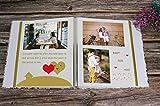 RECUTMS Self-Adhesive Photo Album DIY Scrapbook Set