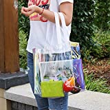 Eland Clear Tote Bag, 2-Pack Stadium Approved