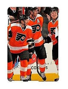 Cfnunb-6417-yafenkq New Premium Flip Case Cover Philadelphia Flyers Nhl Hockey 52 Skin Case For Ipad 2/3/4 As Christmas's Gift
