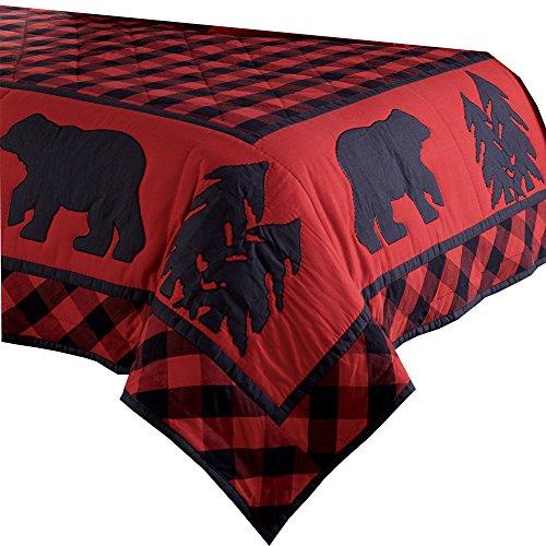 Park Designs Rustic Bear Queen Quilt 94 x94
