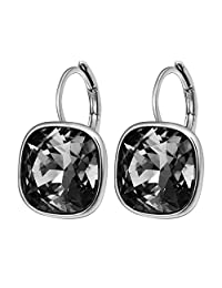 Xuping Fashion Beautiful Valentine's Day Crystals from Swarovski Women Girl Huggies Hoop Earrings Mothers Day Cyber Monday Jewelry Gifts