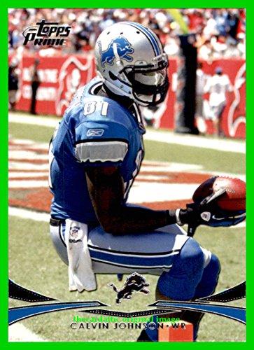 2012 Topps Prime Hobby #90 Calvin Johnson DETROIT LIONS GEORGIA TECH YELLOW JACKETS