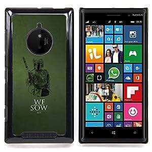 SKCASE Center / Funda Carcasa protectora - No sembramos;;;;;;;; - Nokia Lumia 830