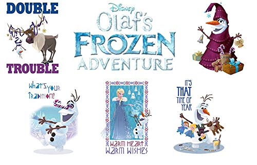 (Frozen Disney Olaf's Adventure Tattoo Set of 10 - Collectible Party)