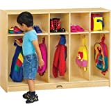 Jonti-Craft 2684TK Toddler 5 Section Coat Locker