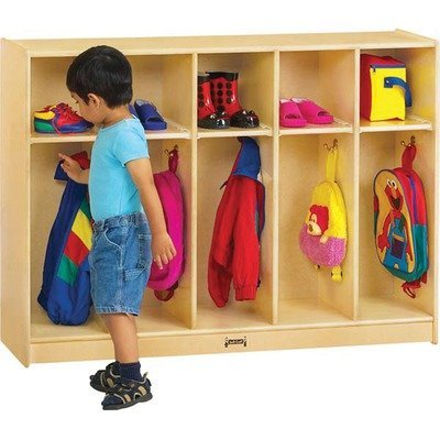 (Jonti-Craft 2684TK Toddler 5 Section Coat Locker)