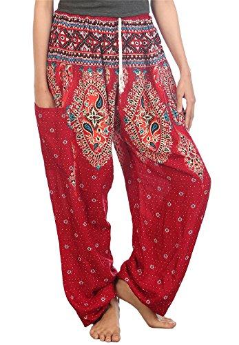 Drawstring Harem Pants - 5