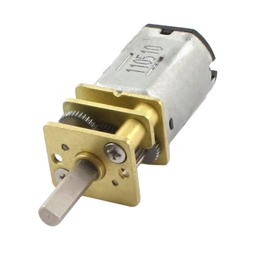 Full steel gear N20 gearmotor smart car Electronic door lock drive Motor 1.5-6V