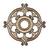 Livex Lighting 8216-57 Ceiling Medallion, Venetian Patina