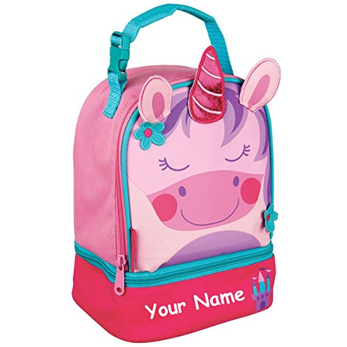 - Stephen Joseph Personalized Unicorn Lunch Pals Lunch Box Bag