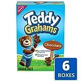 Teddy Grahams Chocolate Graham Snacks, 6 - 10 oz