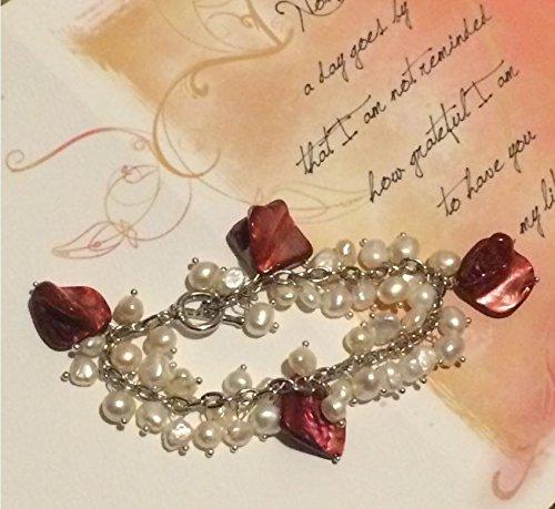 smiling-wisdom-grateful-for-you-card-set-polished-shells-freshwater-cultured-pearl-6-7mm-bracelet-va