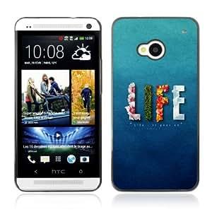 YOYOSHOP [Life Elements] HTC One M7 Case