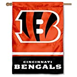 Cincinnati Bengals Two Sided House Flag