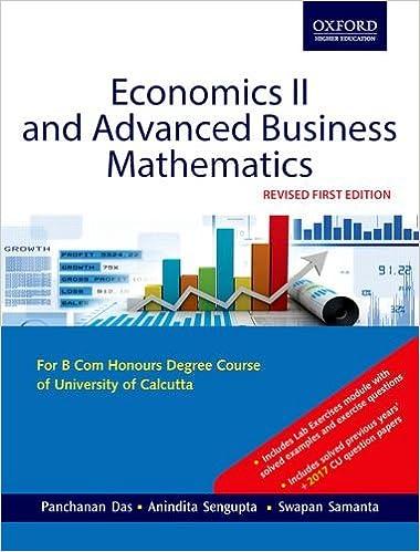 Buy Economics II and Advanced Business Mathematics Book Online at