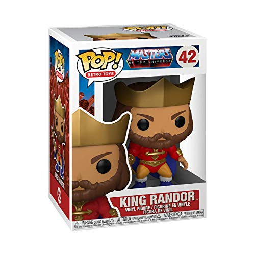 Funko Pop!: Masters of The Universe - King Randor (Metallic)