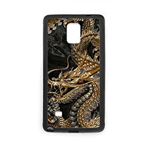 Chinese dragon Cheap Cover Case for Samsung Galaxy Note 4,diy Chinese dragon Cell Phone Case
