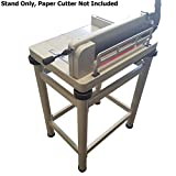 HFS (R) New Heavy Duty Guillotine Paper Cutter - 12'' (Paper Cutter Table Stand)