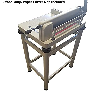 "HFS (R) Paper Cutter Table Stand - For 17"" HFS Guillotine Paper Cutter"