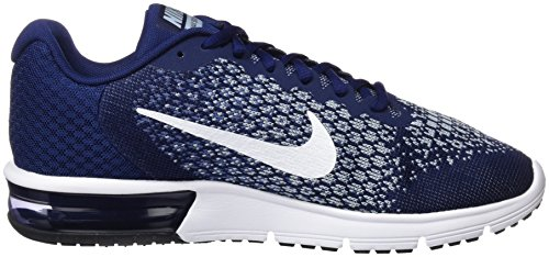 Uomo Nike Blue Air Sequent Max Ginnastica Binary Blue Volt 2 Lt Moon Blu da Armory Scarpe Blue White r0vrqw