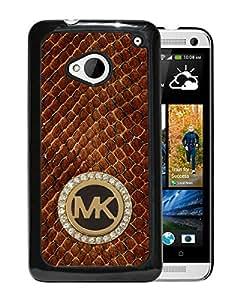 Michael Kors 71 Black High Quality Custom HTC ONE M7 Protective Phone Case