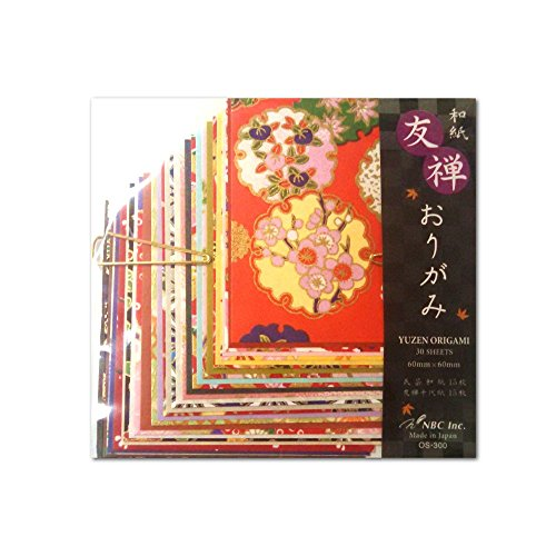 Aitoh Origami Paper, 5 7/8 inch Squares, 24 Sheets, Travel Theme Patterns ()