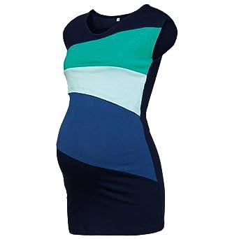 QinMM Camiseta de Mujer Lactancia de Doble Capa, Premamá Blusa Maternidad Embarazo de Sin Mangas Tops Camisas: Amazon.es: Ropa y accesorios