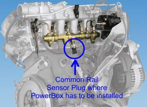 CRD PowerBox Digitales Diesel Chiptuning Modul