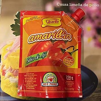 Sibarita Amarillin (Sin Picante) Salsa de Aji Net Wt.8.82