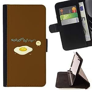 Momo Phone Case / Flip Funda de Cuero Case Cover - Pollito Polluelo Amarillo Blanco - Samsung Galaxy S6