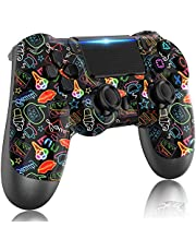 LITTJOY For PS4 Controller, Wireless Controller for Playstation 4,with Dual Vibration/Stereo Headset Jack/Touch Pad / Six-axis Motion Control,Compatible with PS4/Slim/Pro Console