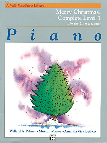 Alfred Beginning Blues Keyboard - Alfred's Basic Piano Library Merry Christmas! Complete, Bk 1: For the Later Beginner