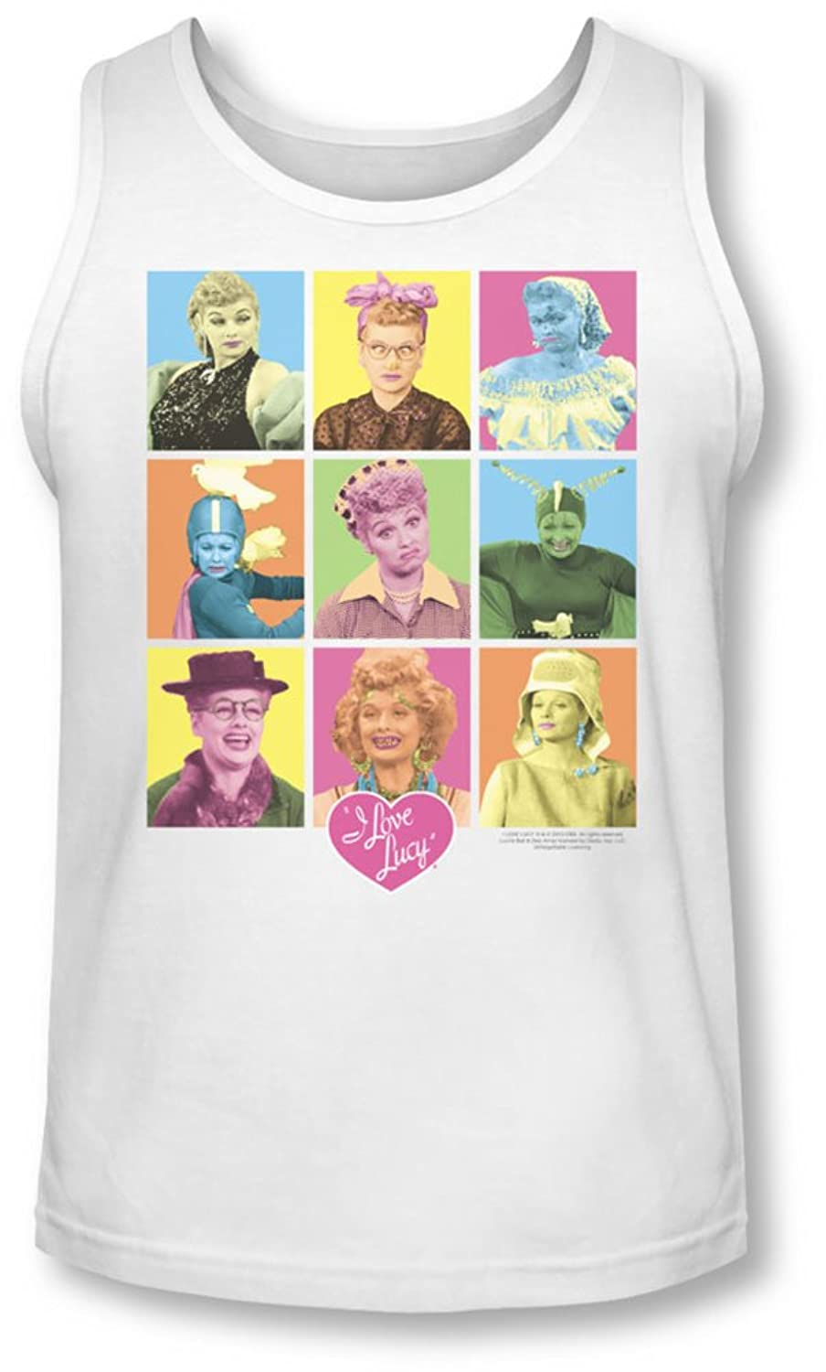 Lucy - Mens So Many Faces Tank-Top