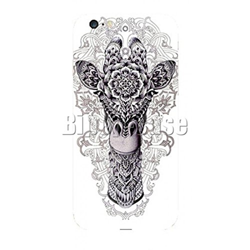 COQUE PROTECTION TELEPHONE IPHONE 6 - GIRAFE PSYCHELIDIQUE