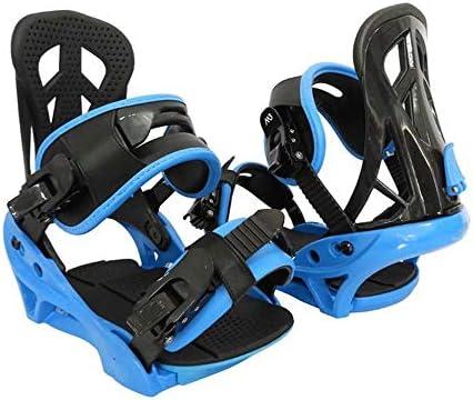 LP-LLL Outdoor Adjustable ski Shoes - Hiking Snowshoes Snow Shoes Ski Skates for Men and Women,Lightweight Snowshoes,Mini Ski Skates Ski Equipment(Blue Black)