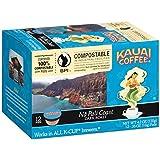Kauai Coffee, Na Pali Coast Dark Roast, Single Serve Coffee Cups, 12 Count
