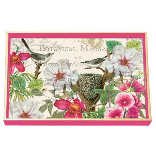 (Michel Design Works Decoupage Wood Vanity Tray, 12.25 by 7.5-Inch, Petals)
