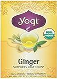 Yogi Tea Ginger, Herbal Supplement, Tea Bags, 16 ct