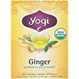 Yogi Tea Organic Ginger Tea, 16 Bags, 1.12 oz