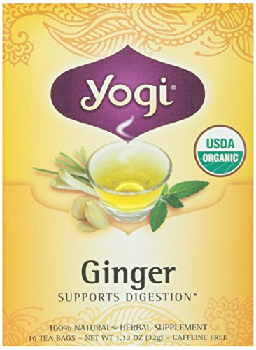 Yogi Tea Organic Ginger Tea, 16 Bags, 1.12 oz