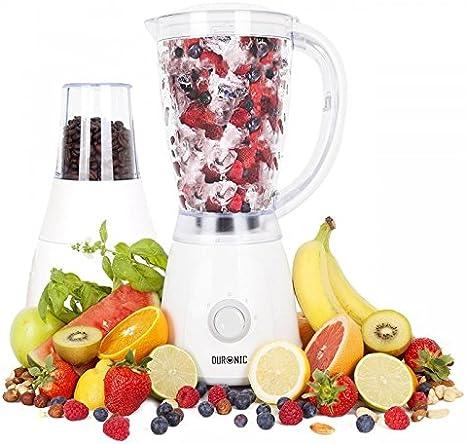 Duronic Bl4 Batidora de Vaso Americana Para Frutas y Verduras ...