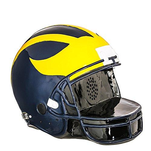 Team Sports America Michigan Wolverines Helmet Bluetooth Speaker by Team Sports America
