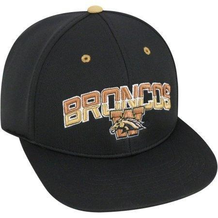 (NCAA University of Western Michigan Broncos Flatbill Baseball Hat \ Cap)