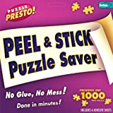 Toys : Puzzle Presto! Peel & Stick Puzzle Saver: The Original and Still the Best Way to Preserve Your Finished Puzzle!
